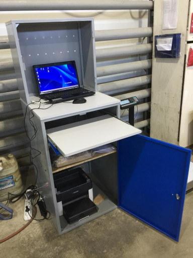 Пример оборудования весового и маркировочного поста на производстве с установленным ПО WMS